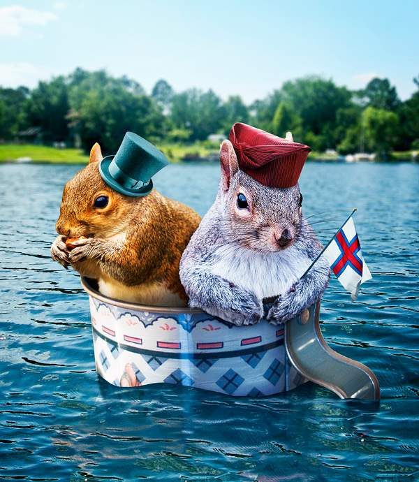 nutty boat trip photo manipulation jan 2012 50+ Latest Photo Manipulation Tutorials in Photoshop