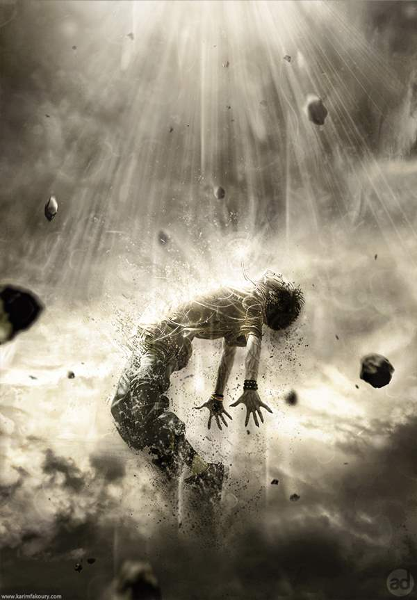 powerful human disintegration effect jan 2012 50+ Latest Photo Manipulation Tutorials in Photoshop