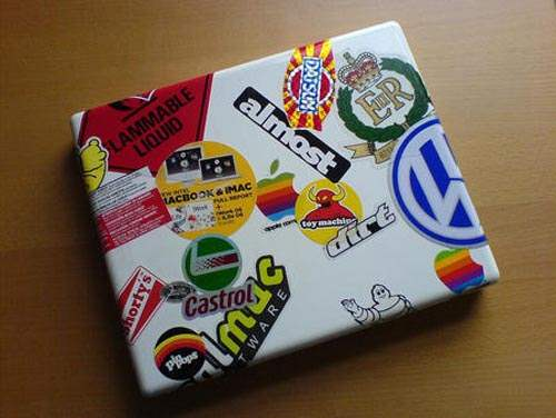 stick2 50 Creative Laptop Skins and Stickers Design