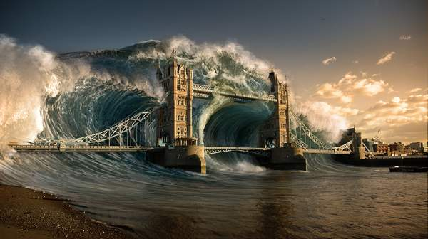 Create a Devastating Tidal Wave in Photoshop in 30 New Photo Manipulation Tutorials