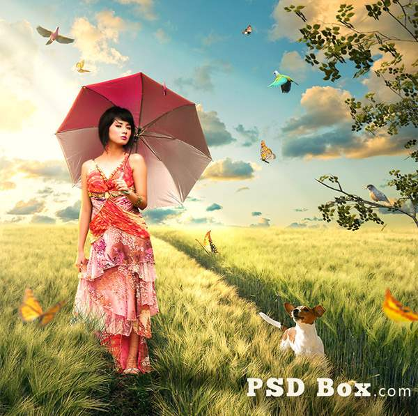 Trip Home – Summer Scene Manipulation in 30 New Photo Manipulation Tutorials