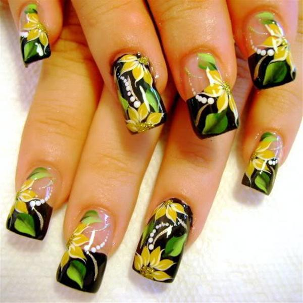 Nail Art Design Pictures Hand Free Hession Hairdressing