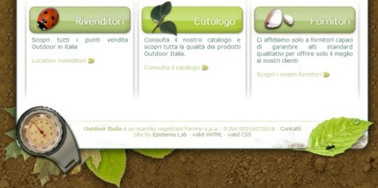 Outdoor Italia official site
