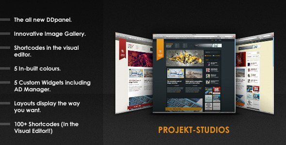 130 Outstanding Themeforest WordPress Themes