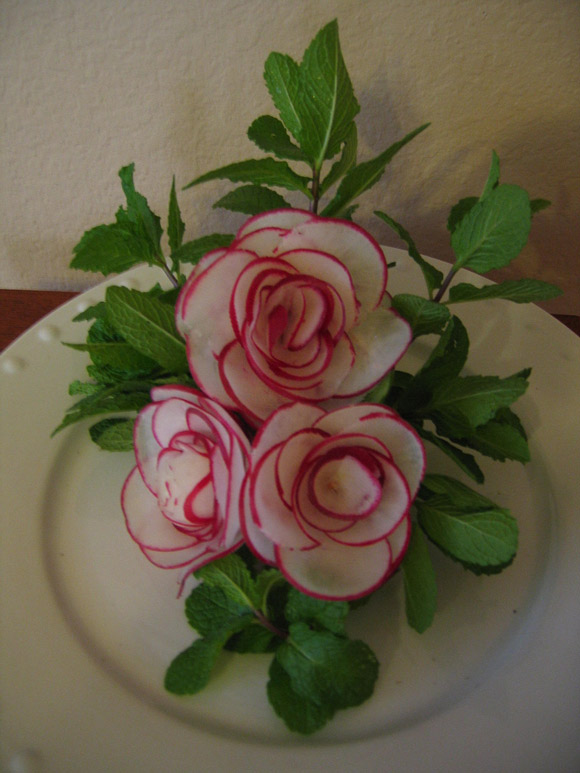 Vegetable Carving Pictures