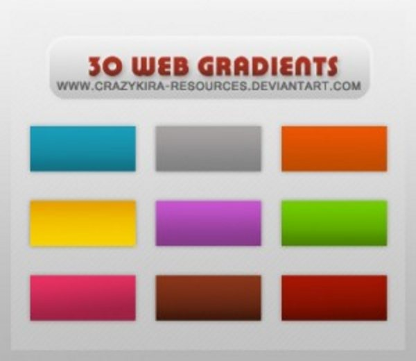 Gradients 05 web style by crazykira resources 300x260 Free Photoshop Gradients for Designers