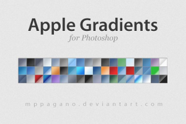 apple gradients by mppagano d1tbo4z 300x200 Free Photoshop Gradients for Designers