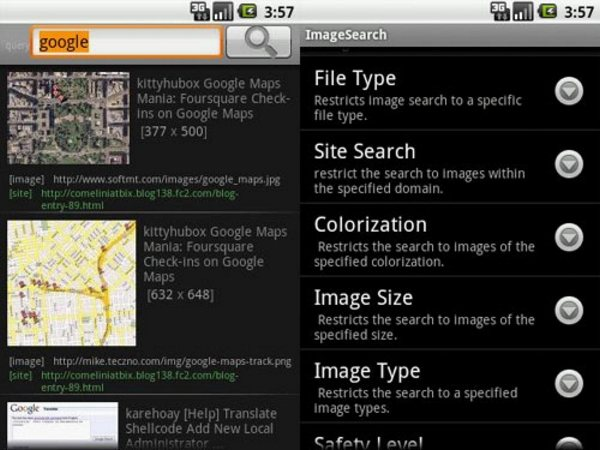 Image Search Android Apps for Designers