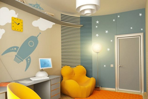 Kids Room Wall Design kids room wall decor ideas fair design window new at kids room wall decor ideas Kids Rooms Decorating Ideas By Designsmag