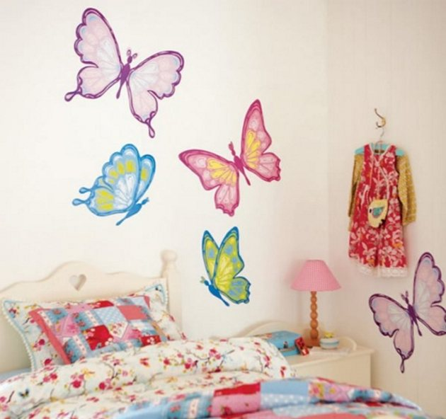 Kids room wall decorating ideas by designsmag 56 - Kids room dcor and kids room wall painting ideas ...