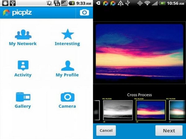 picplz Android Apps for Designers