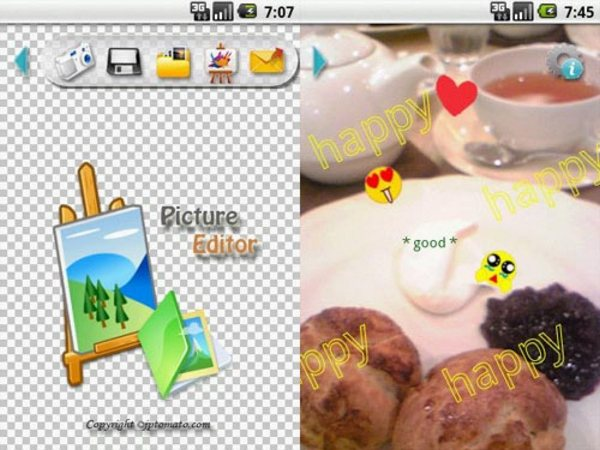 PictureEditor Android Apps for Designers