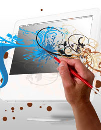 web design faciliy technology 50 Creative Laptop Skins and Stickers Design