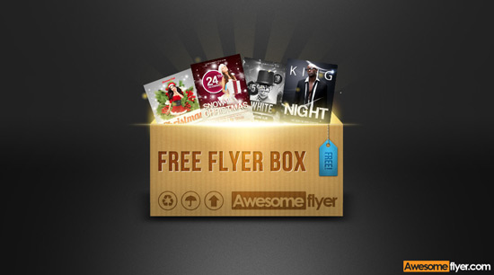 free flyer template bundle box