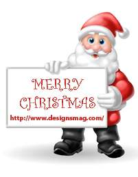 santa wallpapers designsmag main 45 Superb Concept Cell Phone Designs