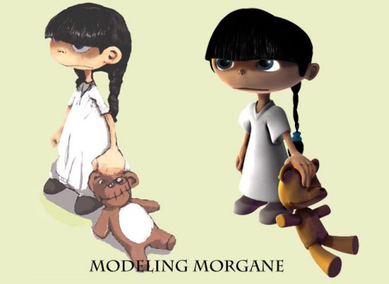 Modeling Morgane 35 Excellent Maya Tutorials For Beginners