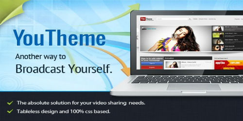 1.Joomla Video Theme