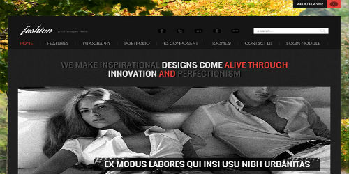 6.Fashion - Responsive Joomla Template