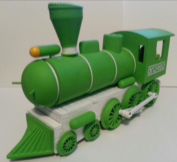 android-train