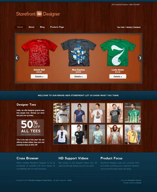 Designer 20 Best Ecommerce Themes for WordPress Website