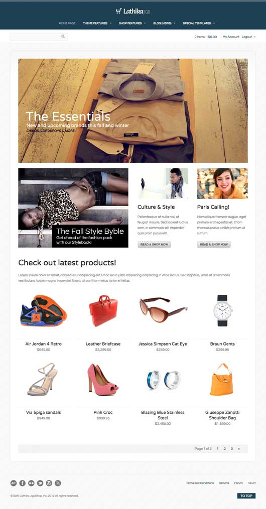 Lathika JigoShop 20 Best Ecommerce Themes for WordPress Website
