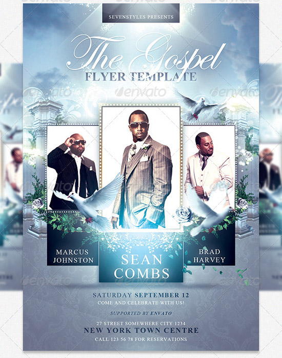 Gospel Flyer Template
