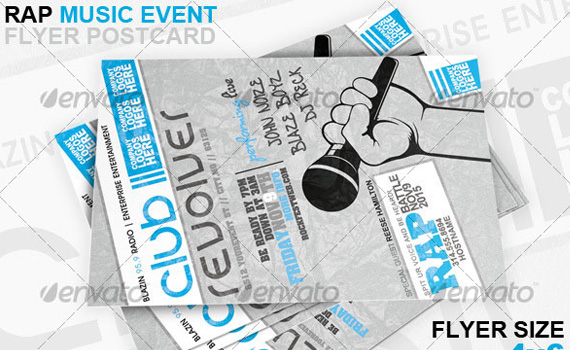 Rap-battle-premium-print-ready-flyers