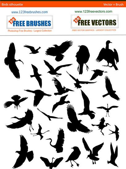 Bird Silhouette free pack Stunning Vector Graphics for Designers