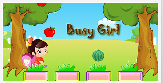 Busy Girl Marvelous 35 Premium Flash Animations with Source Files
