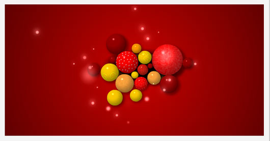 Christmas Balls Marvelous 35 Premium Flash Animations with Source Files