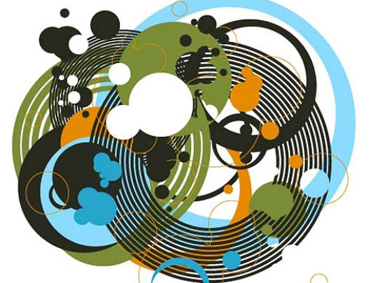 Circles Stunning Vector Graphics for Designers