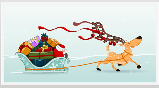 Deer and Santa Claus Marvelous 35 Premium Flash Animations with Source Files