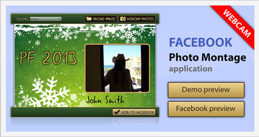 Facebook Photo Montage Application Template Marvelous 35 Premium Flash Animations with Source Files
