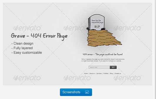 Final Destination 404 Error Design Resources to Get More Attention
