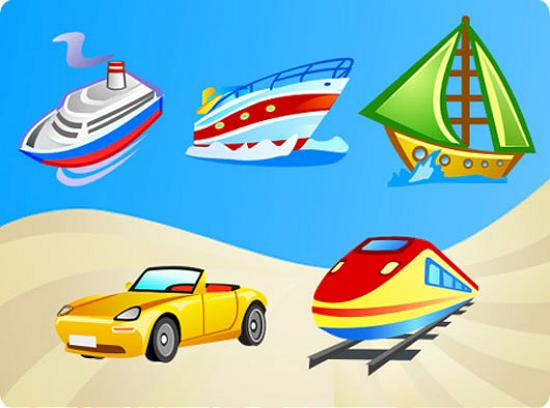 Free Vector Transport Stunning Vector Graphics for Designers
