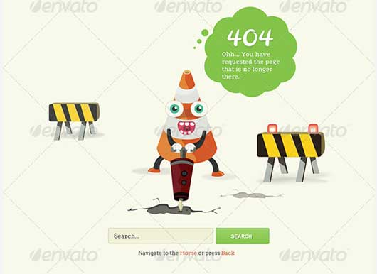 Funny 404 Error Design Resources to Get More Attention