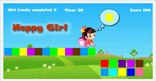 Happy Girl Marvelous 35 Premium Flash Animations with Source Files
