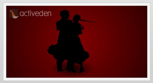 Lovers Dance Silhouette Animation Marvelous 35 Premium Flash Animations with Source Files