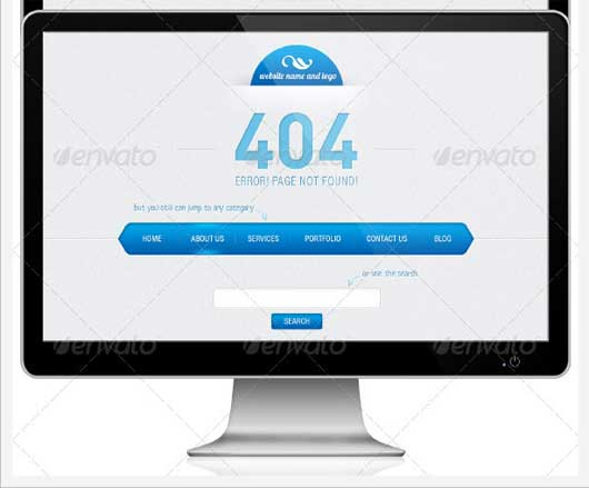 Other Options 404 Error Design Resources to Get More Attention