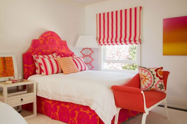 Red-Floral-Headboard-600x398