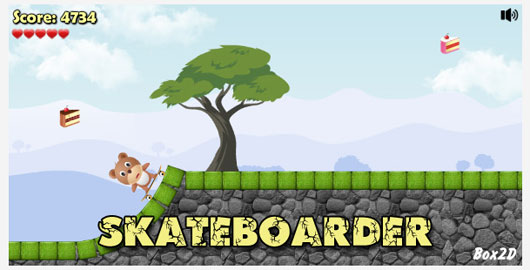 Skateboarder Marvelous 35 Premium Flash Animations with Source Files