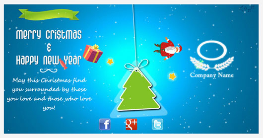 Snowy Christmas Card 2 Marvelous 35 Premium Flash Animations with Source Files