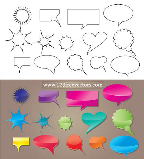 Speech Bubble Vector Stunning Vector Graphics for Designers
