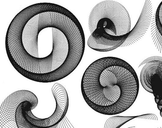 Spiral Vectors Stunning Vector Graphics for Designers