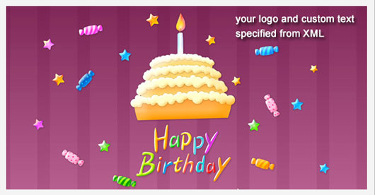 Sweet Birthday E card Marvelous 35 Premium Flash Animations with Source Files