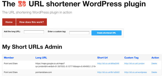 The Z6 URL shortener WordPress plugin1 Top 40 Premium Plugins of WordPress