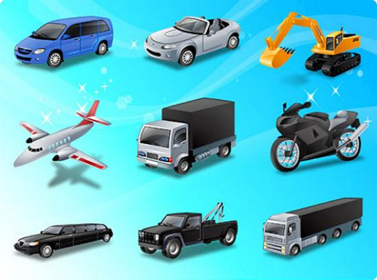 Transport Vector Graphics for Designers