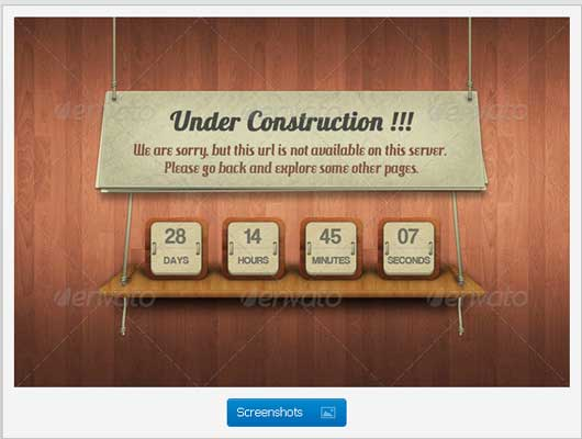 Under Process 404 Error Design Resources to Get More Attention