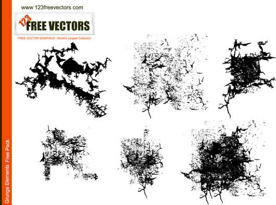 Vector Grunge Elements Stunning Vector Graphics for Designers