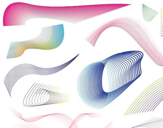Vector Lines Swirls and Patterns Stunning Vector Graphics for Designers